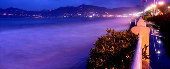 Costa azzurra, mare